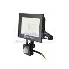 Прожектор 20w c датчиком движения 1800Lm 6400K IP65 EVRO LIGHT EV-20-504D