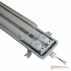 Светильник EVRO-LED-SH-40 с LED лампами 6400К (2*1200мм) + PULS-10