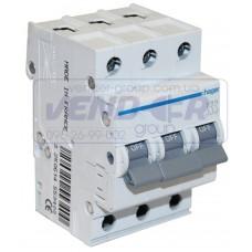 Автоматический выключатель 3P 0.5А In=6кА хар.С