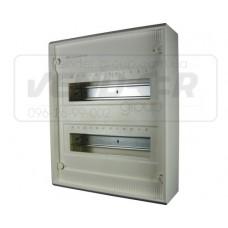 Щит для открытой установки VA24CN без дверки, 24 МОДУЛЯ
