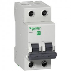 Автоматический выключатель Easy9 2P 10А In=4.5кА хар. C