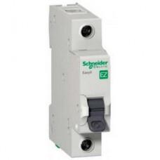 Автоматический выключатель Easy9 1P 10А In=4.5кА хар.С