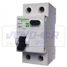 Дифференциальный автоматический выключатель Schneider Electric Easy9 ,10А, 30мА, C