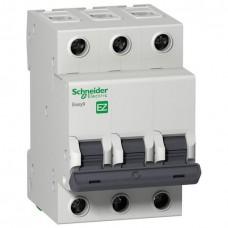 Автоматический выключатель Easy9 3P 10А In=4.5кА хар.С